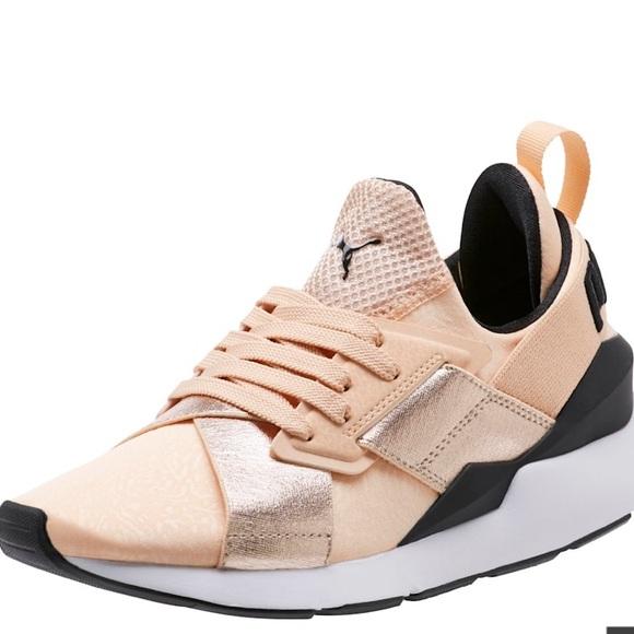 Puma Shoes | Muse Metallic Sneakers